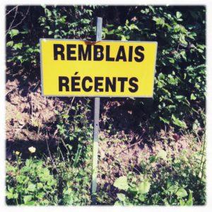 Remblais Récent