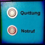 Quittung Notruf