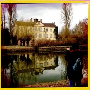 Villa near river Saar