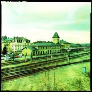 Railway station in Sarreguemines