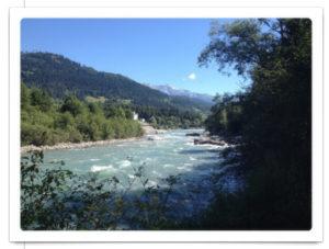 Wildwasser des Vorderrheins